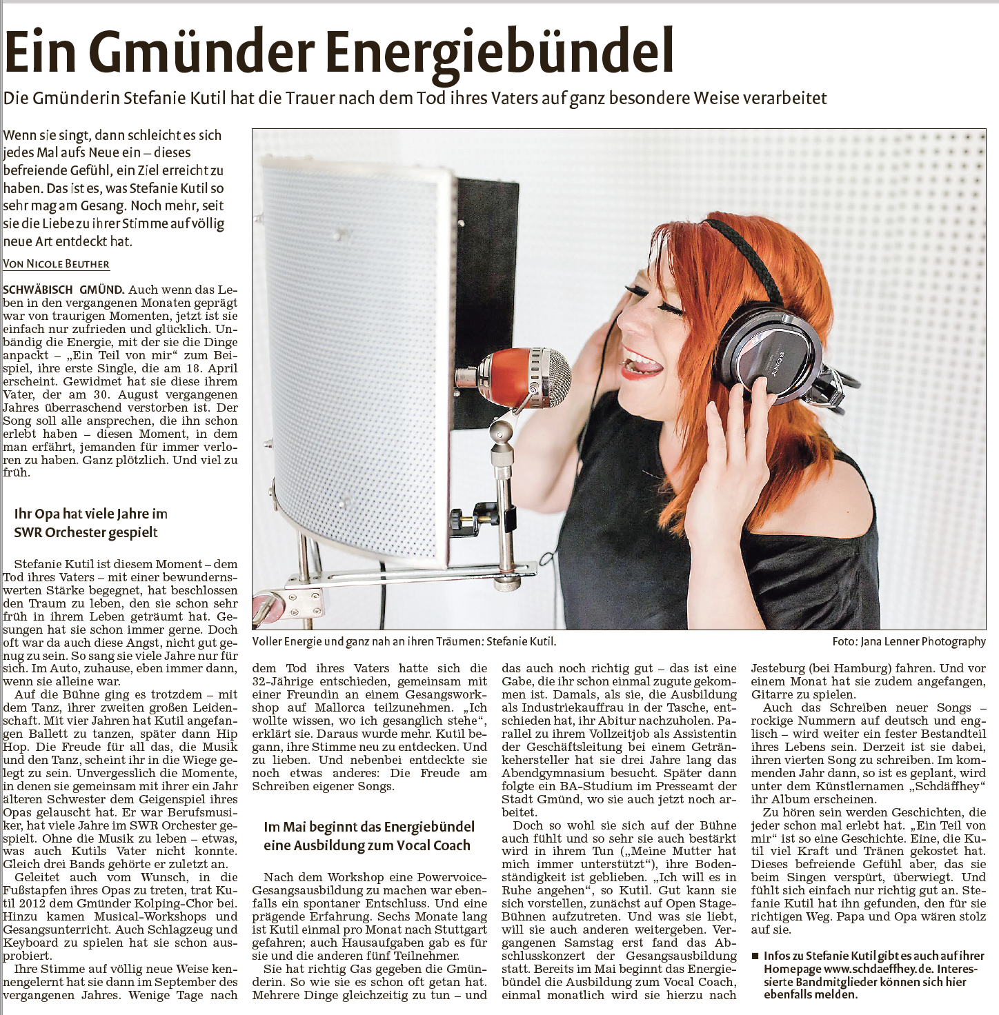Artikel Rems-Zeitung