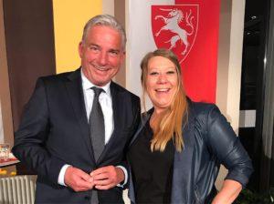 Thomas Strobl und Steffi Kutil