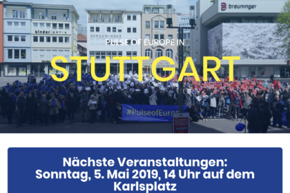 Pulse of Europe Stuttgart