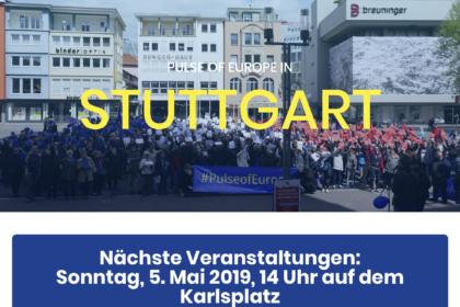 Pulse of Europe Stuttgart